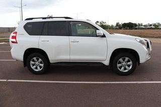 2014 Toyota Landcruiser Prado KDJ150R MY14 GXL Glacier White 5 Speed Sports Automatic Wagon.