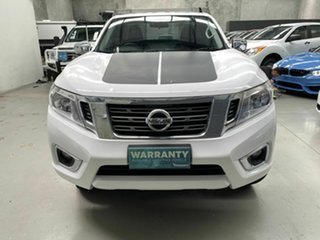 2020 Nissan Navara D23 S4 MY20 RX 4x2 White 6 Speed Manual Cab Chassis.