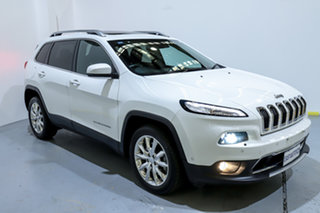 2016 Jeep Cherokee KL MY16 Limited White 9 Speed Sports Automatic Wagon