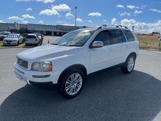 2010 Volvo XC90 MY10 D5 R-Design (AWD) White 6 Speed Automatic Geartronic Wagon.