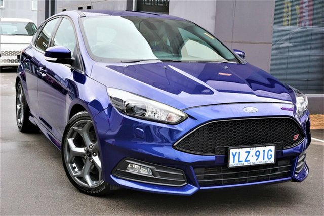 Used Ford Focus LZ ST Phillip, 2017 Ford Focus LZ ST Blue 6 Speed Manual Hatchback