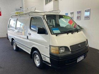 2003 Toyota HiAce RZH103R SWB White 5 Speed Manual Van.