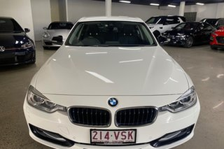 2015 BMW 3 Series F30 MY1114 316i Sport Line White 8 Speed Automatic Sedan.