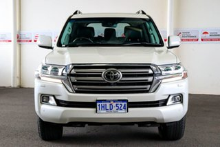 2020 Toyota Landcruiser VDJ200R Sahara Crystal Pearl 6 Speed Sports Automatic Wagon.