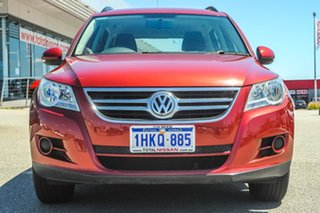 2009 Volkswagen Tiguan 5N MY09 125TSI 4MOTION Red 6 Speed Sports Automatic Wagon