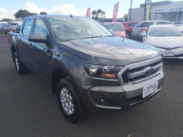 Used Ford Ranger PX MkII XLS Double Cab Warrnambool East, 2017 Ford Ranger PX MkII XLS Double Cab Magnetic 6 Speed Sports Automatic Utility