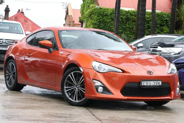 Pre-Owned Toyota 86 ZN6 MY14 Upgrade GTS Mosman, 2015 Toyota 86 ZN6 MY14 Upgrade GTS Velocity Orange 6 Speed Manual Coupe