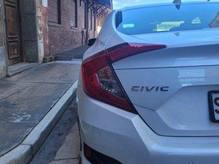 2019 Honda Civic 10th Gen MY19 VTi-LX White 1 Speed Constant Variable Sedan
