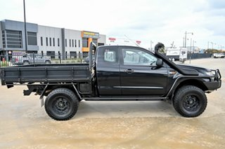2013 Ford Ranger PX XL Black 6 Speed Manual Cab Chassis