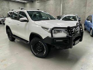 2015 Toyota Fortuner GUN156R GX White 6 Speed Automatic Wagon.