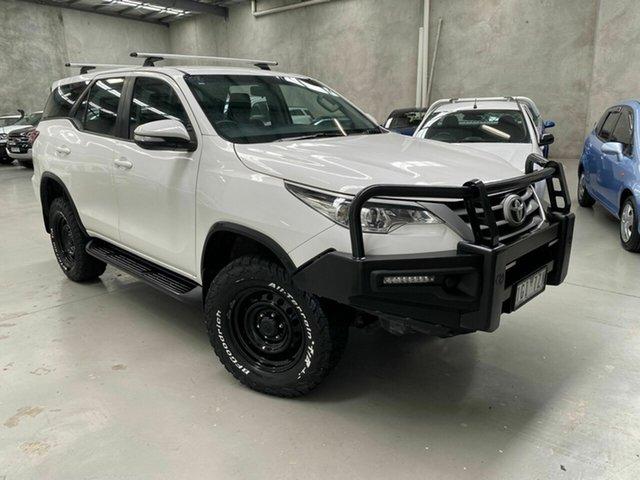 Used Toyota Fortuner GUN156R GX Coburg North, 2015 Toyota Fortuner GUN156R GX White 6 Speed Automatic Wagon