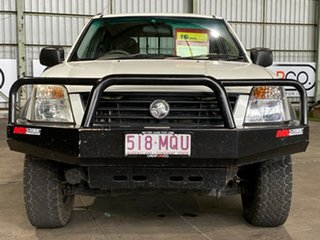 2003 Holden Rodeo RA LT Crew Cab White 5 Speed Manual Utility