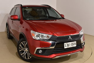 2017 Mitsubishi ASX XC MY17 LS 2WD Metallic Red 6 Speed Constant Variable Wagon.