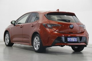 2018 Toyota Corolla ZWE211R Ascent Sport E-CVT Hybrid Volcanic Red 10 Speed Constant Variable.