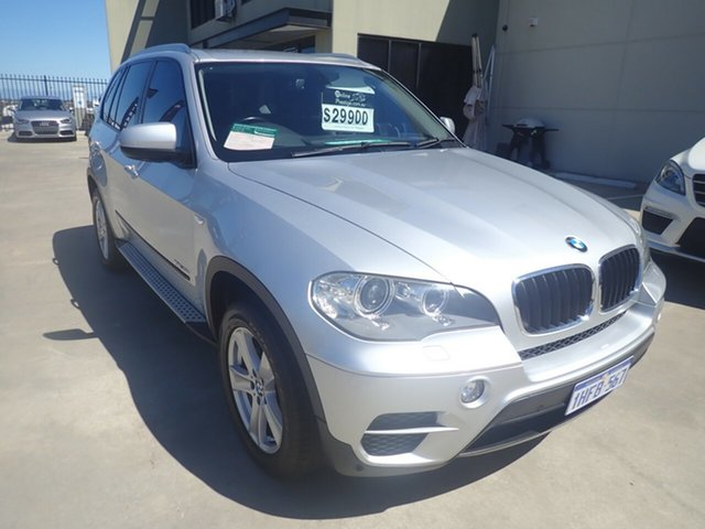 Used BMW X5 E70 MY10 xDrive30d Wangara, 2011 BMW X5 E70 MY10 xDrive30d Silver Metallic 8 Speed Automatic Sequential Wagon
