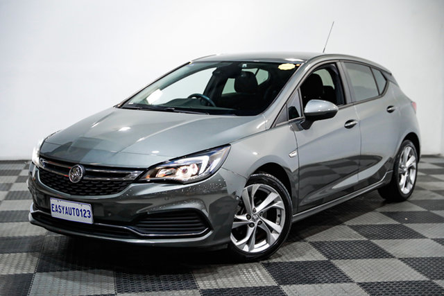 Used Holden Astra BK MY17 RS Edgewater, 2017 Holden Astra BK MY17 RS Grey 6 Speed Sports Automatic Hatchback