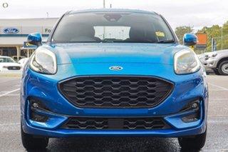 2021 Ford Puma JK 2021.75MY ST-Line Blue 7 Speed Sports Automatic Dual Clutch Wagon.