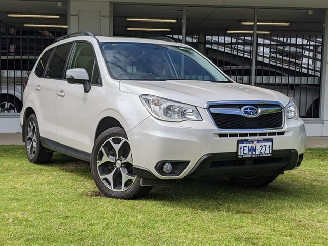 Used Subaru Forester S4 MY13 2.0D-S AWD Victoria Park, 2013 Subaru Forester S4 MY13 2.0D-S AWD White 6 Speed Manual Wagon