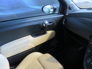 2013 Abarth 695 Edizione Maserati Mauve 5 Speed Automated Manual Convertible