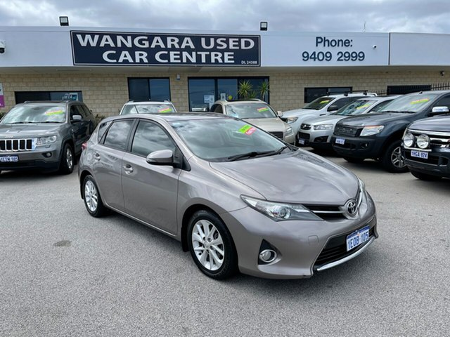 Used Toyota Corolla ZRE182R Ascent Sport Wangara, 2014 Toyota Corolla ZRE182R Ascent Sport Cinnamon Flame 7 Speed CVT Auto Sequential Hatchback