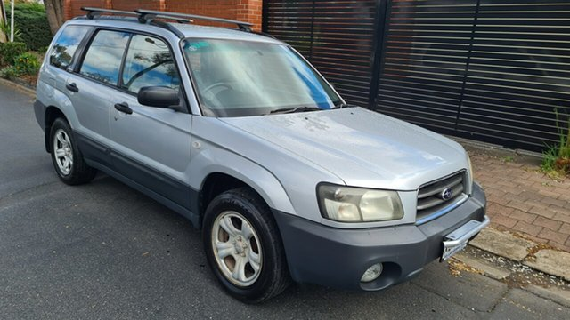 Used Subaru Forester MY04 X Prospect, 2004 Subaru Forester MY04 X Silver 4 Speed Automatic Wagon