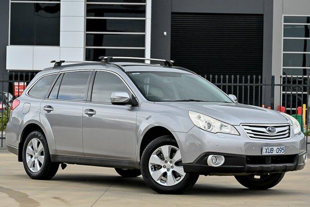 Used Subaru Outback B5A MY10 3.6R AWD Premium Pakenham, 2010 Subaru Outback B5A MY10 3.6R AWD Premium Silver 5 Speed Sports Automatic Wagon