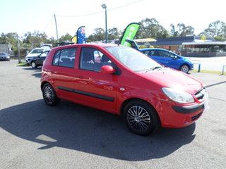 2010 Hyundai Getz Red Automatic Hatchback.