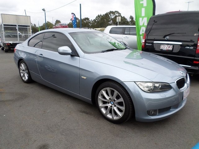 Used BMW 320d Capalaba, 2009 BMW 320d Blue Automatic Coupe
