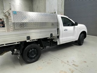 2020 Nissan Navara D23 S4 MY20 RX 4x2 White 6 Speed Manual Cab Chassis