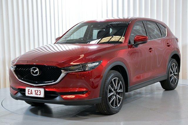 Used Mazda CX-5 KE1032 Grand Touring SKYACTIV-Drive i-ACTIV AWD Hendra, 2017 Mazda CX-5 KE1032 Grand Touring SKYACTIV-Drive i-ACTIV AWD Red 6 Speed Sports Automatic Wagon
