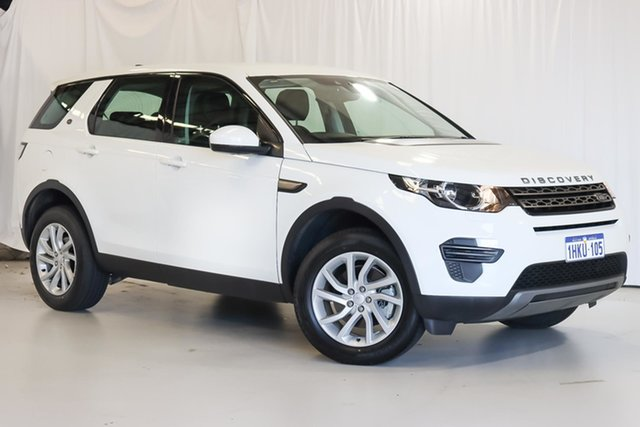 Used Land Rover Discovery Sport L550 18MY TD4 110kW SE Wangara, 2018 Land Rover Discovery Sport L550 18MY TD4 110kW SE White 9 Speed Sports Automatic Wagon