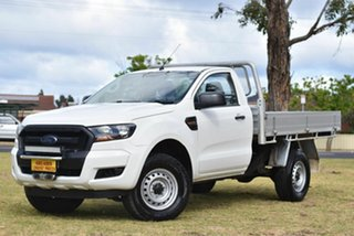 2016 Ford Ranger PX MkII XL Hi-Rider White 6 Speed Manual Cab Chassis