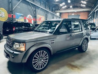 2010 Land Rover Discovery 4 Series 4 MY11 TdV6 CommandShift Grey 6 Speed Sports Automatic Wagon