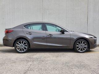 2017 Mazda 3 BN5238 SP25 SKYACTIV-Drive Astina Brown 6 Speed Sports Automatic Sedan