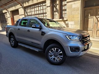 2019 Ford Ranger PX MkIII 2019.00MY Wildtrak Aluminium 10 Speed Sports Automatic Double Cab Pick Up.