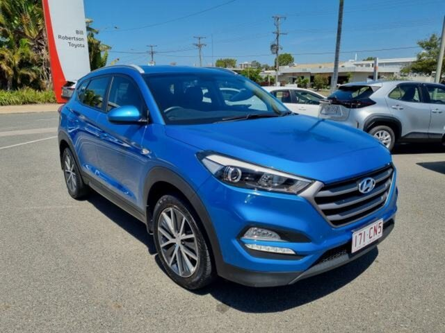 Pre-Owned Hyundai Tucson TLE Active (FWD) Gladstone, 2015 Hyundai Tucson TLE Active (FWD) Blue 6 Speed Automatic Wagon