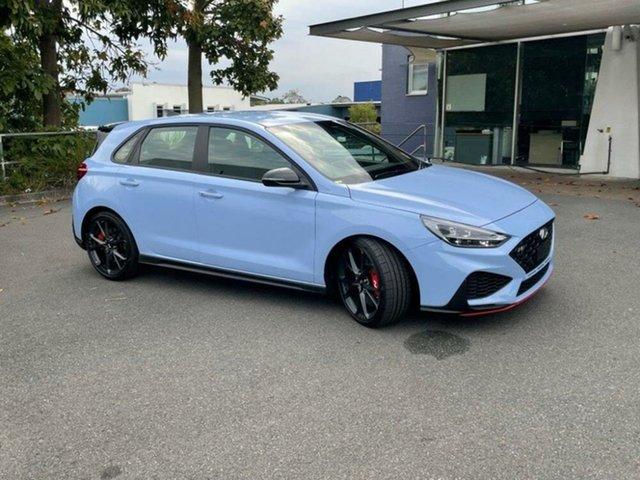 New Hyundai i30 Pde.v4 MY22 N Springwood, 2021 Hyundai i30 Pde.v4 MY22 N Performance Blue 6 Speed Manual Hatchback