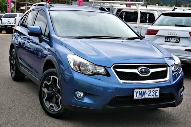 Used Subaru XV G4X MY14 2.0i-S Lineartronic AWD Phillip, 2014 Subaru XV G4X MY14 2.0i-S Lineartronic AWD Blue 6 Speed Constant Variable Wagon