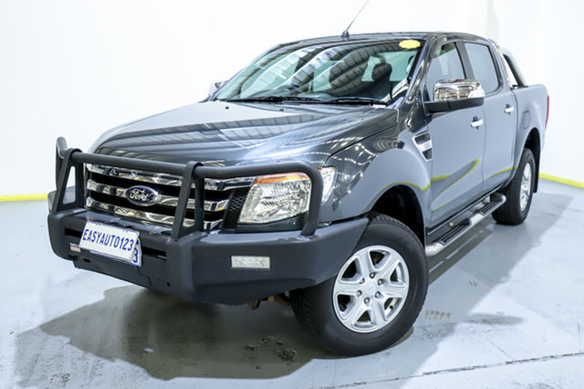 Used Ford Ranger PX XLT Double Cab Canning Vale, 2015 Ford Ranger PX XLT Double Cab Grey 6 Speed Sports Automatic Utility