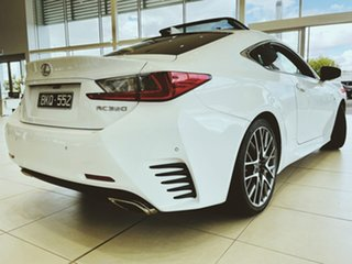 2015 Lexus RC GSC10R RC350 F Sport White 8 Speed Sports Automatic Coupe.