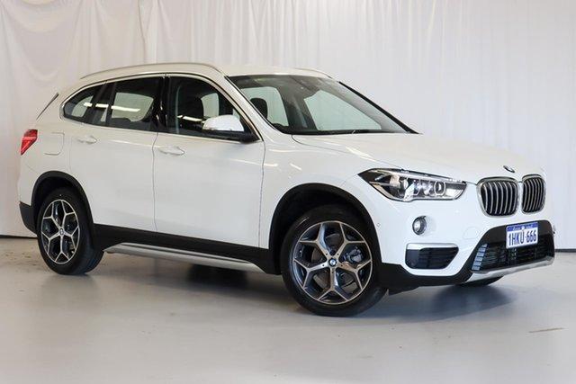 Used BMW X1 F48 sDrive18d Steptronic Wangara, 2019 BMW X1 F48 sDrive18d Steptronic White 8 Speed Sports Automatic Wagon