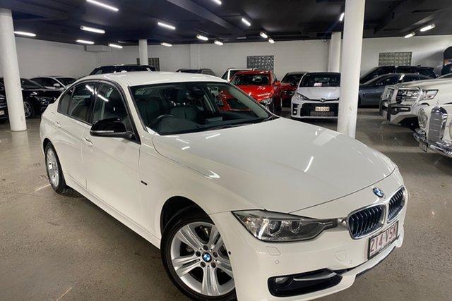 Used BMW 3 Series F30 MY1114 316i Sport Line Albion, 2015 BMW 3 Series F30 MY1114 316i Sport Line White 8 Speed Automatic Sedan