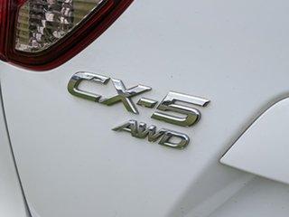 2015 Mazda CX-5 KE1032 Maxx SKYACTIV-Drive AWD White 6 Speed Sports Automatic Wagon.