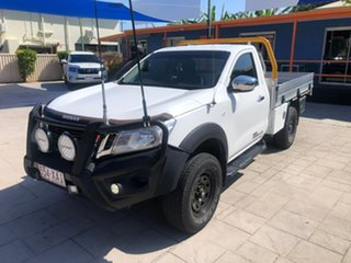2016 Nissan Navara D23 RX White 6 Speed Manual Cab Chassis.