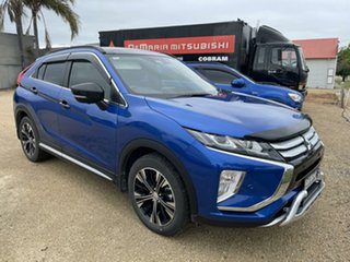 2018 Mitsubishi Eclipse Cross YA MY18 Exceed AWD Lightning Blue Continuous Variable Transmission.