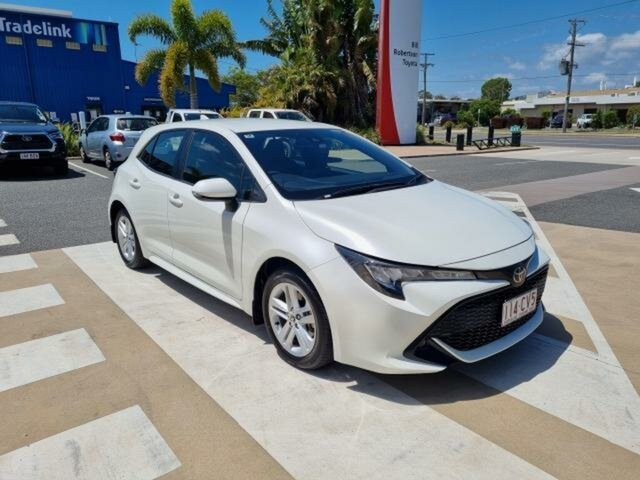 Pre-Owned Toyota Corolla Mzea12R Ascent Sport Gladstone, 2018 Toyota Corolla Mzea12R Ascent Sport Crystal Pearl 10 Speed Constant Variable Hatchback