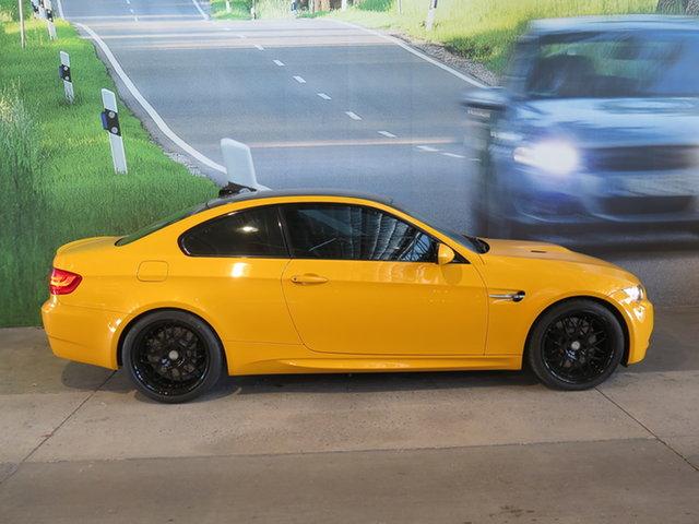 Used BMW M3 E92 MY13 Pure Osborne Park, 2013 BMW M3 E92 MY13 Pure Yellow 7 Speed Auto Direct Shift Coupe