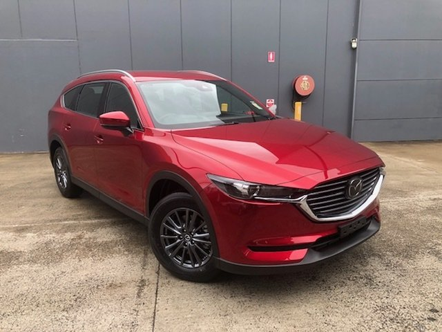 New Mazda CX-8 KG4W2A Sport SKYACTIV-Drive i-ACTIV AWD Alexandria, 2021 Mazda CX-8 KG4W2A Sport SKYACTIV-Drive i-ACTIV AWD Soul Red Crystal 6 Speed Sports Automatic