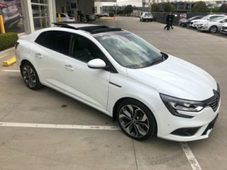 2018 Renault Megane LFF Intens EDC White 7 Speed Sports Automatic Dual Clutch Sedan.