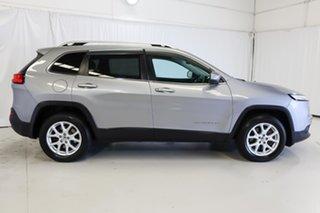 2015 Jeep Cherokee KL MY15 Longitude Silver 9 Speed Sports Automatic Wagon.